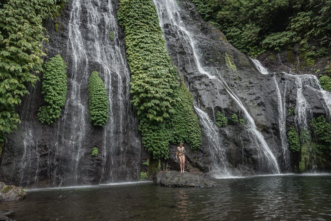 Wodospad Banyumala.
