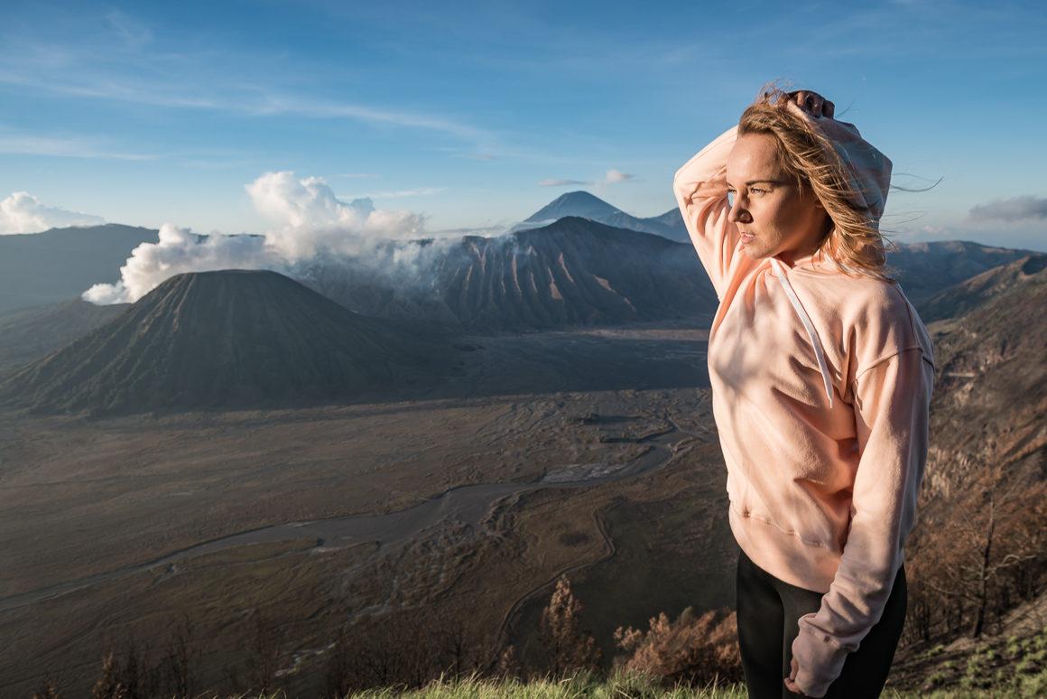 Wulkan Bromo i Martyna