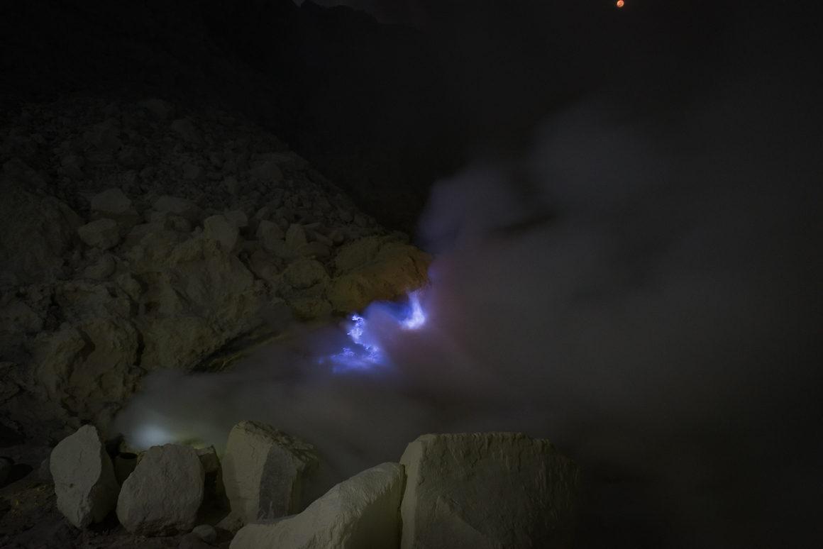 Wyprawa na Ijen - Blue fire