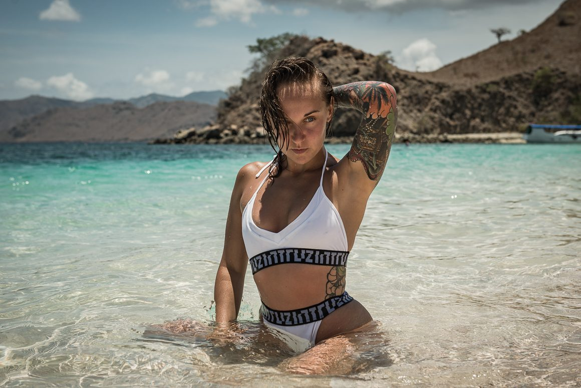Martyna na plaży