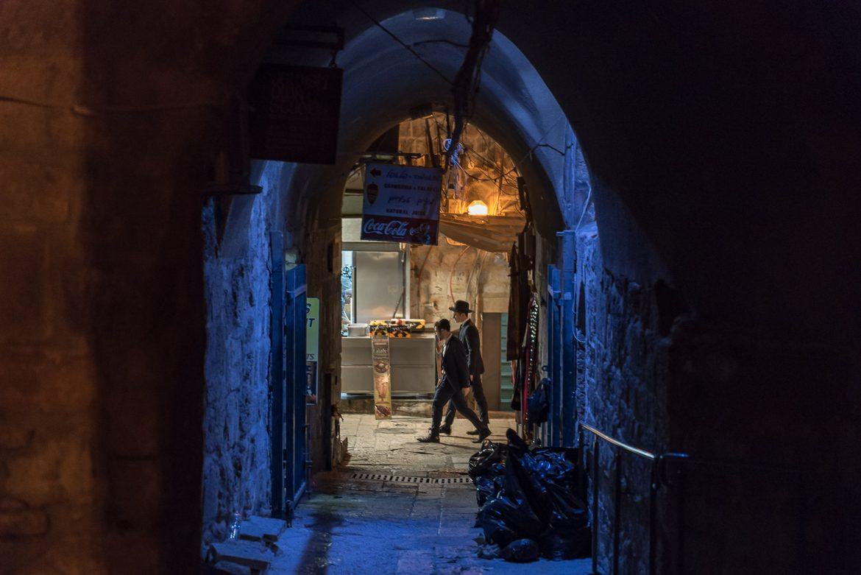 Nocny spacer po Starym Mieście.