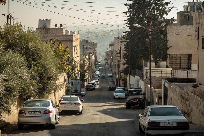 Jedna z ulic w okolicy Cytadeli.