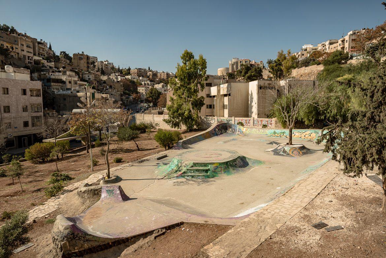 Skatepark w centrum Ammanu.