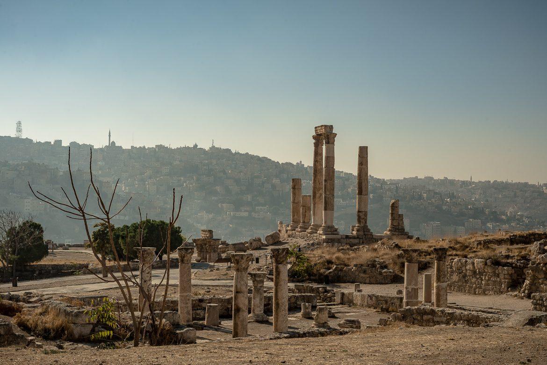 Świątynia Herkulesa w Cytadeli.
