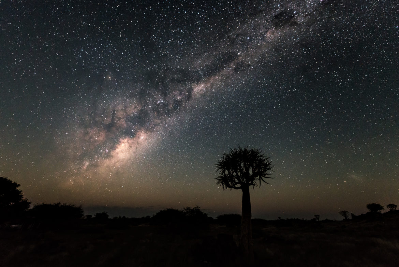 Droga Mleczna nad Namibią