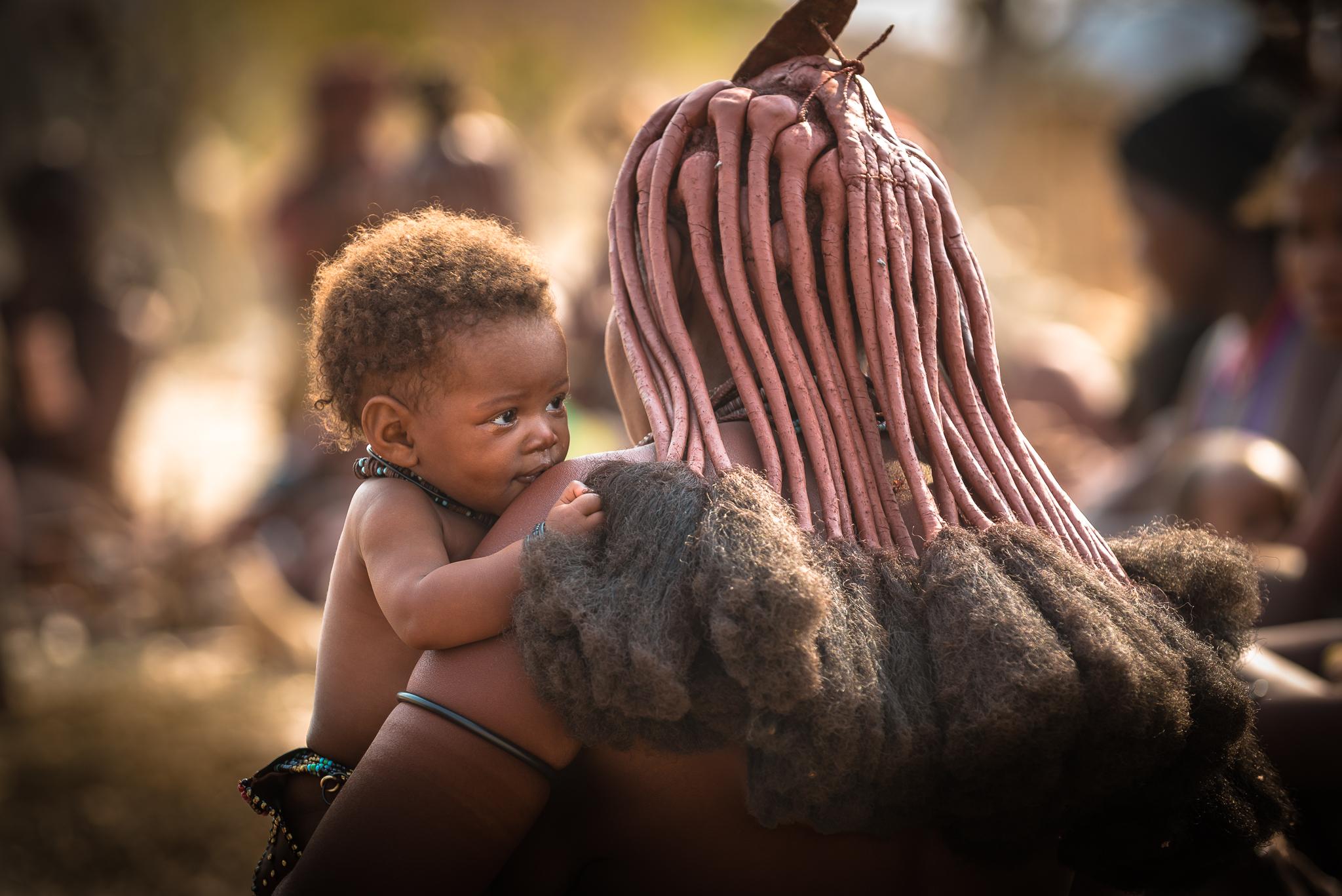 Zwiedzimy wioskę ludzi Himba.